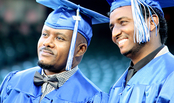 South Seattle College graduates
