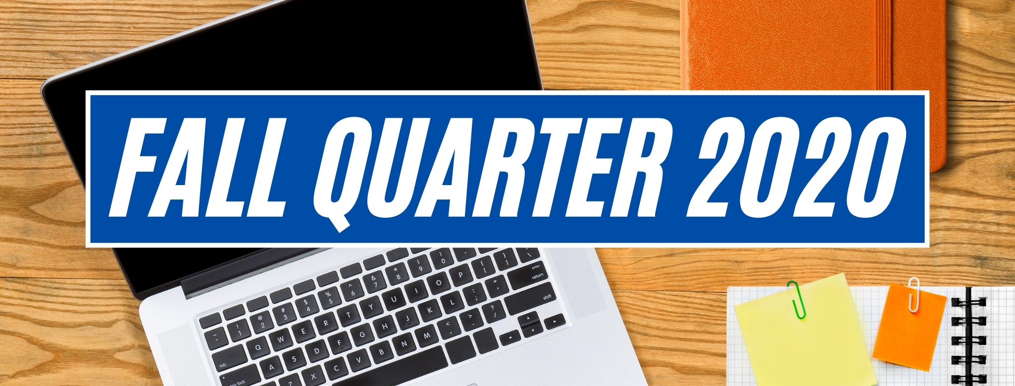 Fall Quarter graphic