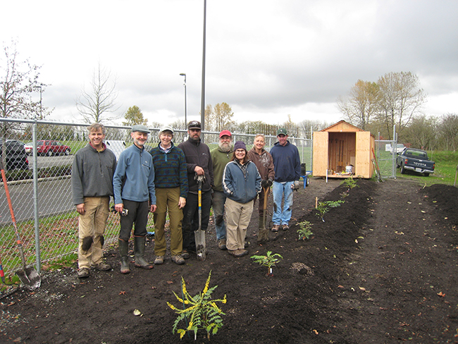 Mahonia Project volunteers